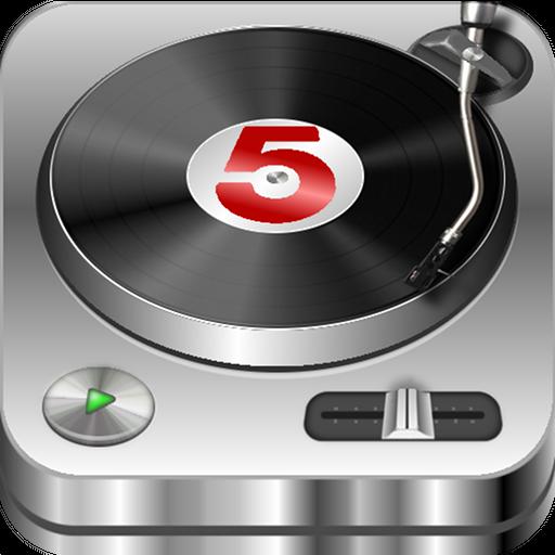 DJ Studio 5 - Free music mixer icon