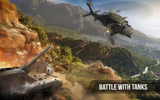 Army Gunship Helicopter Games 3D: Joycity Battle screenshot 4
