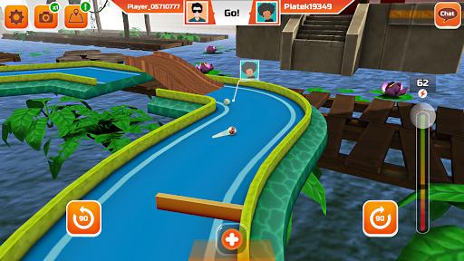 Mini Golf 3D City Stars Arcade - Multiplayer Rival screenshot 5