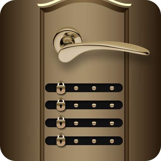Door Lock Screen - Fingerprint & 4K Wallpapers