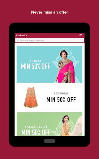 Craftsvilla - Sarees Suits Jewellery Shopping App 8 تصوير الشاشة