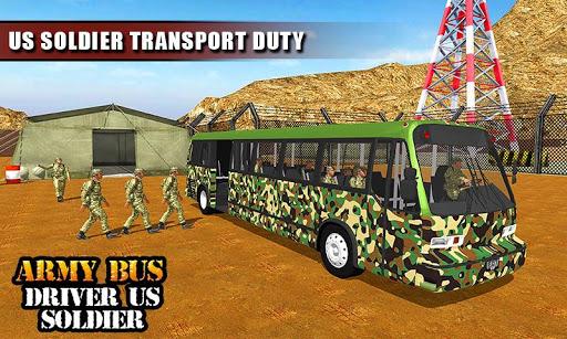 Army Bus Driver 2021:Real Military Coach Simulator screenshot 6