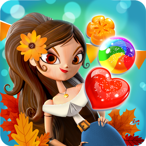 Sugar Smash: Book of Life - Free Match 3 Games. أيقونة