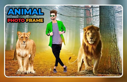 Animal Photo Frame - Animal Photo Editor screenshot 4