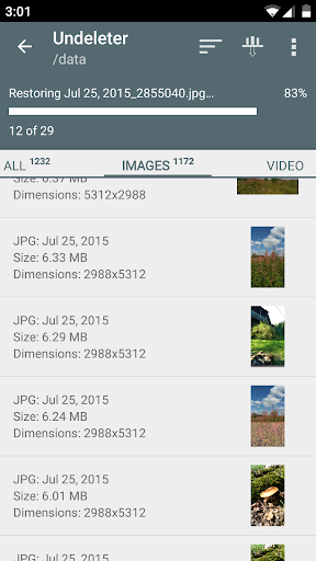 Undeleter Recover Files & Data screenshot 3