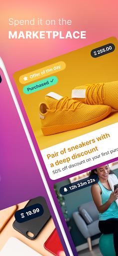 Sweatcoin — Walking step counter & tracker screenshot 3
