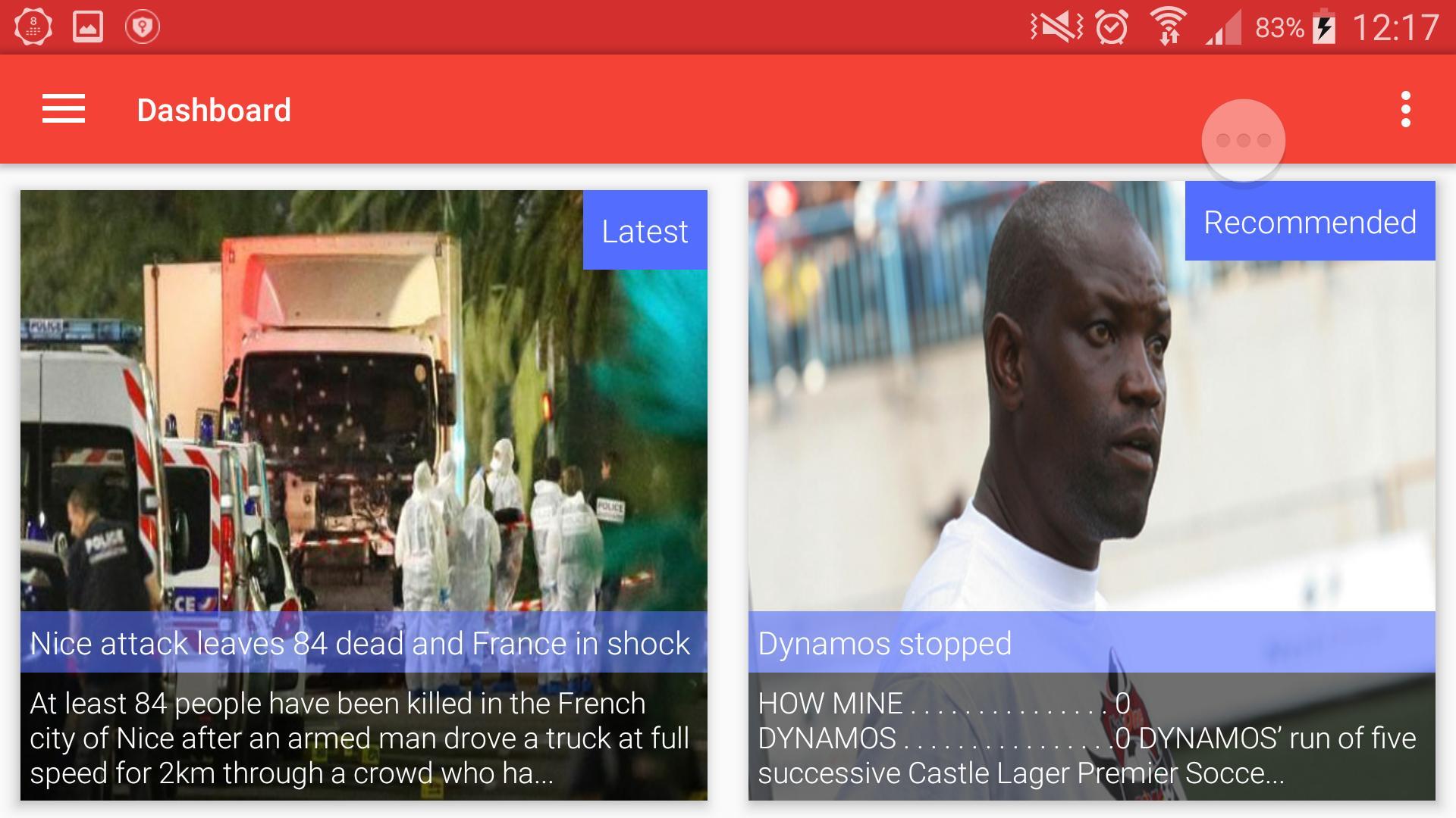 Zimbabwe Newsstand 7 تصوير الشاشة