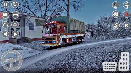 भारतीय कार्गो ट्रक चालक सिम 2k20: शीर्ष नए गेम स्क्रीनशॉट 4