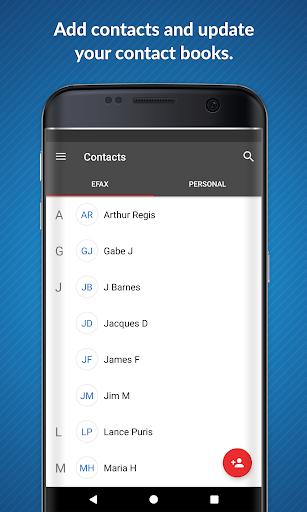eFax: Send Fax from Phone (Official Fax App) 4 تصوير الشاشة