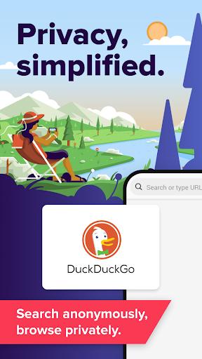 DuckDuckGo Privacy Browser screenshot 1