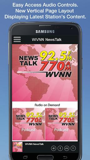 WVNN NewsTalk 1 تصوير الشاشة