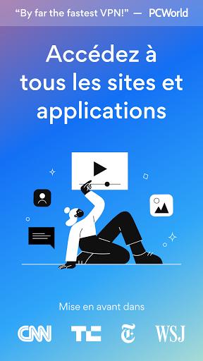 Hotspot Shield Gratuit VPN Proxy & Sécurité WiFi screenshot 1