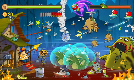 Swamp Attack screenshot 4