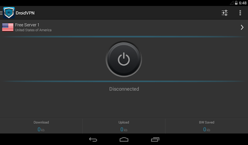 DroidVPN - Easy Android VPN screenshot 4