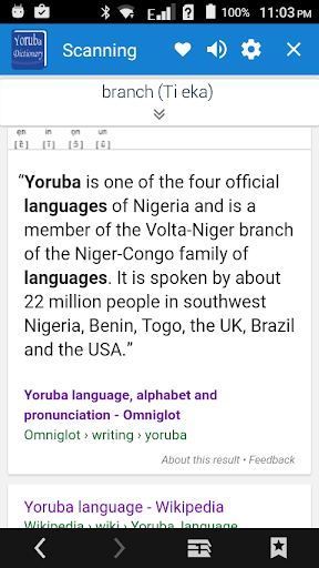 Yoruba Dictionary Multifunctional screenshot 13