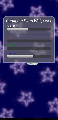 Stars Live Wallpaper screenshot 4