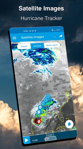 Weather Forecast 14 days - Meteored News & Radar 2 تصوير الشاشة