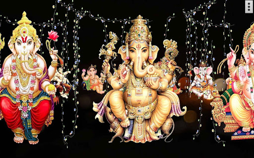 4D Ganesh Live Wallpaper скриншот 4