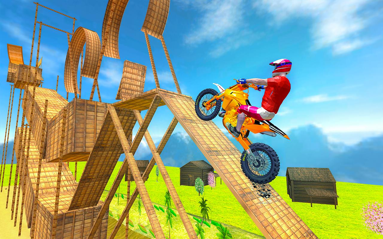 Tricky Bike Moto Stunt Rider screenshot 2