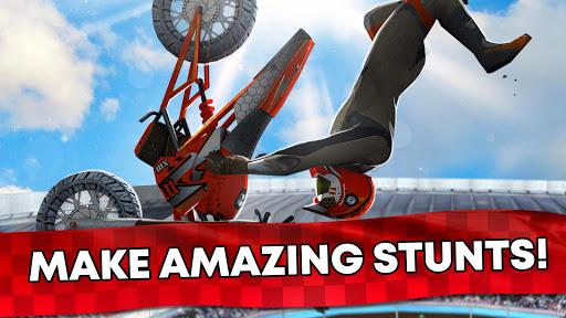 Free Motor Bike Racing - Fast Offroad Driving Game screenshot 9