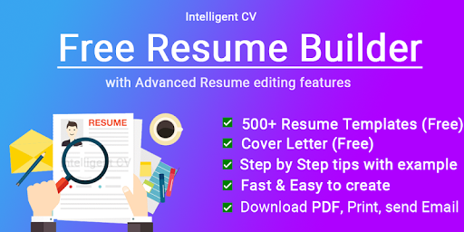 Resume Builder App Free CV maker 2021 - PDF Format screenshot 1