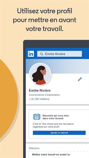 LinkedIn: recherche de job & nouvelles d'affaires screenshot 5