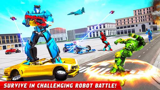Formula Car Robot Games - Air Jet Robot Transform screenshot 10