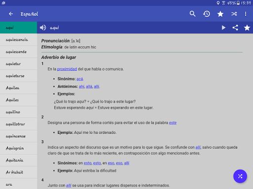 Spanish Dictionary - Offline screenshot 13