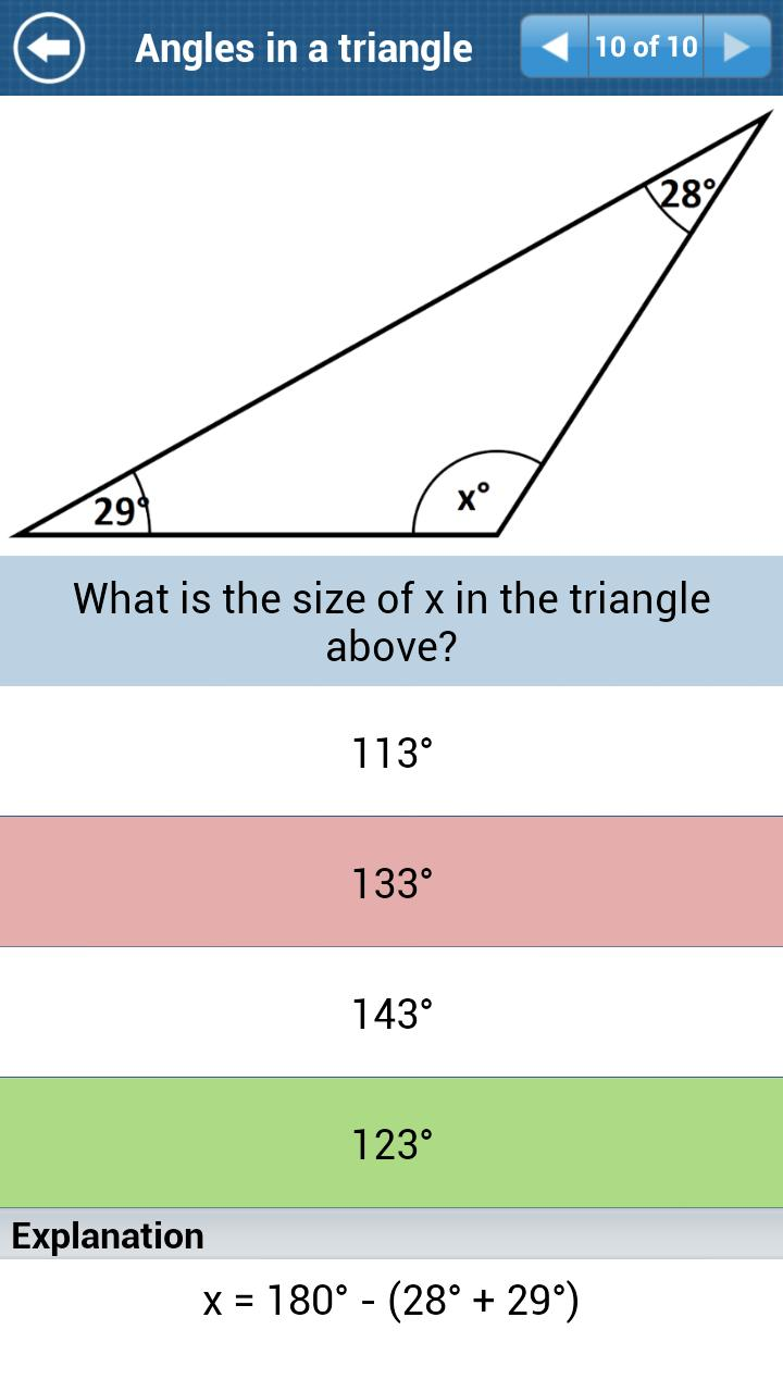 GCSE Maths Geometry Revision L screenshot 6