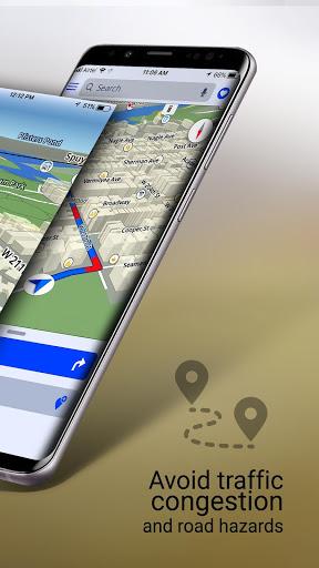 GPS Live Navigation, Maps, Directions and Explore screenshot 2