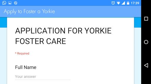 SA Yorkie Rescue 8 تصوير الشاشة