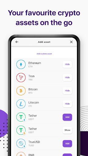 Trustee Wallet - best bitcoin and crypto wallet 7 تصوير الشاشة