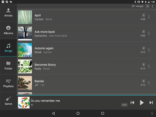 jetAudio HD Music Player 17 تصوير الشاشة