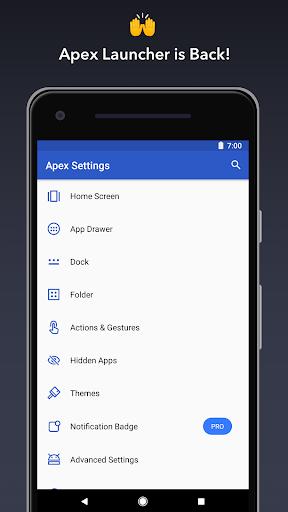 Apex Launcher - Customize,Secure,and Efficient 1 تصوير الشاشة