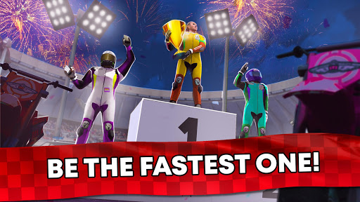 Free Motor Bike Racing - Fast Offroad Driving Game screenshot 7