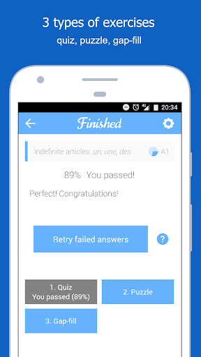 Dr French, French grammar screenshot 3