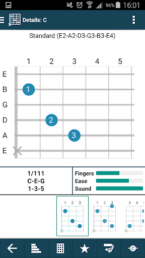 smart Chord & tools (гитара,.. скриншот 3