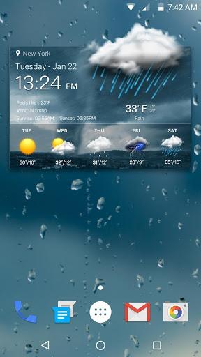 القطعة توقعات الطقس 2 تصوير الشاشة