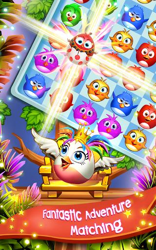 Birds Pop Mania: Match 3 Games Free 4 تصوير الشاشة