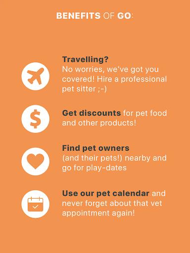 GoApp.pet - Pet community for pet lovers 16 تصوير الشاشة