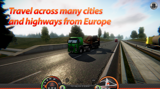 Truck Simulator : Europe 2 screenshot 7