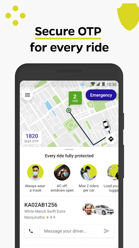Ola, Safe and affordable rides скриншот 3