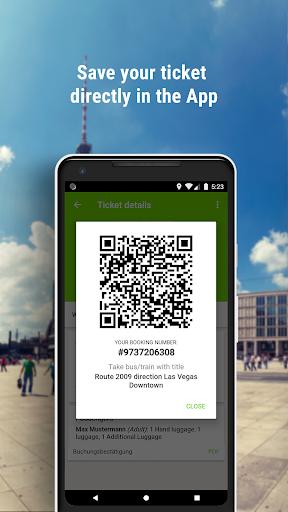 FlixBus - Smart bus travel screenshot 3