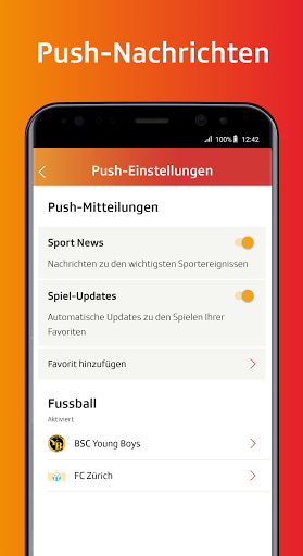 SRF Sport - News, Livestreams, Resultate screenshot 5