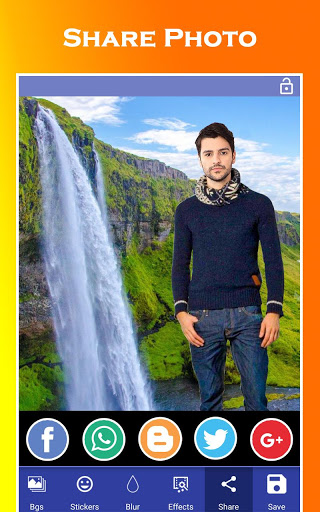 Waterfall Photo Editor - Photo Frames 15 تصوير الشاشة