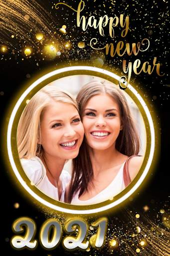 New year photo frame 2021 screenshot 2