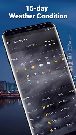 Amber Weather&Radar Free screenshot 4