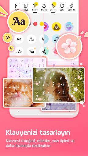 Facemoji Klavye: Gif,Emoji Klavyesi,Temalar,etiket screenshot 2