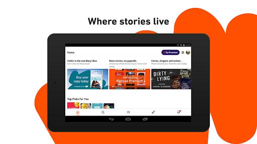 Wattpad - Read & Write Stories screenshot 6