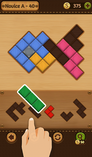 Block Puzzle Games: Wood Collection 5 تصوير الشاشة